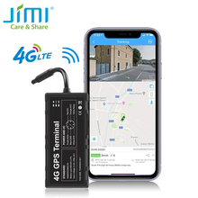 Jimi GV40 4G GPS Tracker With WiFi Real-time Tracking Remote Monitoring Via APP Platform Multiple Alerts Car Tracker For Vehicle