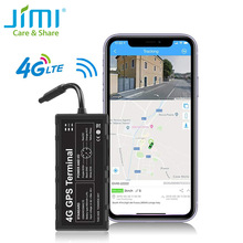 Gps-Tracker Platform Vehicle Remote-Monitoring Jimi Wifi Real-Time GV40 4G with Via-App