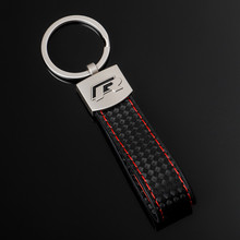 Pendentif en cuir de style de voiture pour Vw R, porte-clés en métal, cadeaux d'affaires, accessoires automobiles pour hommes et femmes
