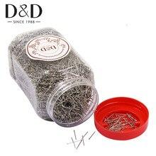 1 kg/box 0.7mm 2cm cabeça pinos fino cetim pino costureiro pinos para fazer jóias costura e artesanato pinos retos de aço inoxidável