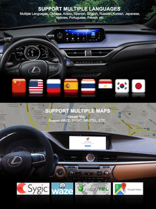 Image 5 - Smart Android GPS for Leuxs IS 200 IS300 IS250 IS350 350H 300H 2013 2018 Car bluetooth head unit multimedia Premium Navigation