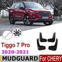 Błotniki dla Chery Tiggo 7 pro 2021 2020 4 sztuk przedni tylny błotnik błotniki straż Splash Flap błotnik akcesoria samochodowe