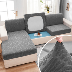 Fabirc Sofa cushion cover 1/2/3/4 seater thick Slipcover couch sofa corner sofa covers stretch elastic sofa covers