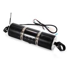 OllyMurs MT487 12 В черный мотоцикл MP3 музыкальный плеер Bluetooth стерео динамик fm-радио со светодиодный дисплей Водонепроницаемый XL-63