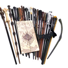 Adult Magic Stage Props Boy Role Playing Metal Core Wand Toy Halloween Birthday Party Gift