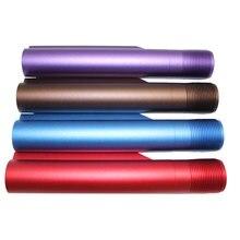 Buffer tubo AR-15 m16 buffer tubo para airsoft carabina caça rifle acessório liga de alumínio buffer tubo