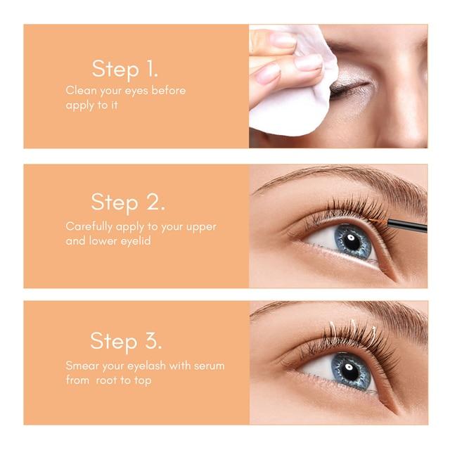eyelash growth serum liquid eyelash lifting kit eye lash treatment eyebrow growth serum eyebrow enhancer lash lift 4