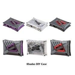 Khadas чехол для Khadas VIM3/VIM2/VIM1 три цвета DIY чехол для Khadas
