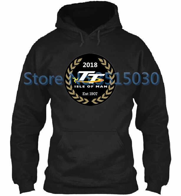 2019 Isle Of Man TT wyścigi męskie bluzy z kapturem męskie bluzy Suzuki kurtka zimowa na co dzień z kapturem