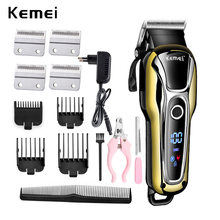 100-240v rechargeable animal hair clipper professional dog hair trimmer for cat cutter hair remover for pet grooming machine