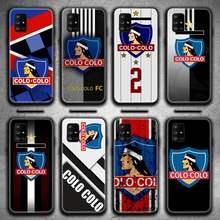 Clube Social y Deportivo Colo Caixa Do Telefone Para Samsung Galaxy A21S A01 A11 A31 A81 A10 A20E A30 A40 A50 A70 A80 A71 A51