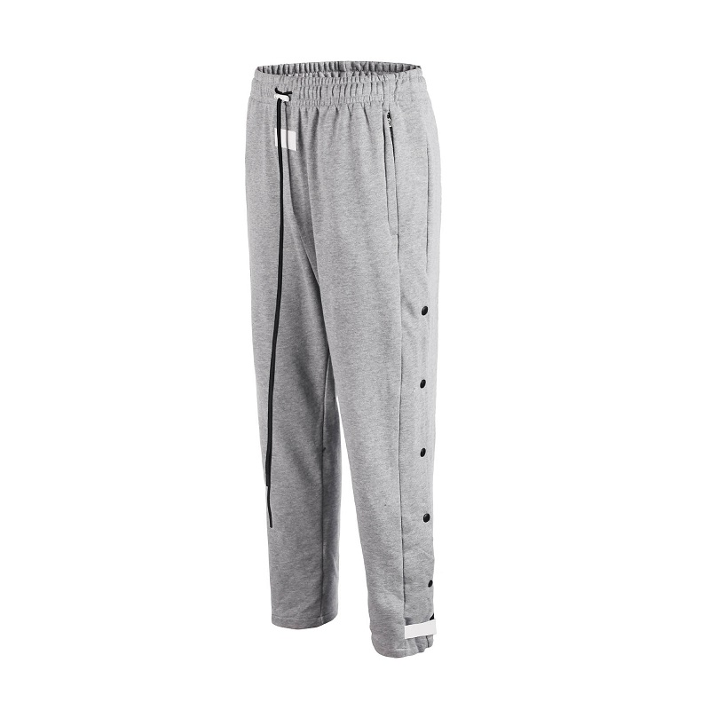 QoolXCWear FOG High Quality Sweatpants Side Snap Button Drawstring Track Sweatpants Men's Track Pants