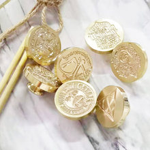 3cm Vintage Stamp Wax Seal Beads Stamp 934 Wax Stamps For Gift Envelope Card Wax Seal Stamp Candle