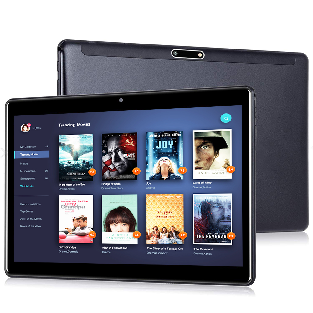 ZONKO Tablet Android 9. 0 10.1 Inch 5G Wifi Tablet PC Octa-Core 2G RAM 32G ROM Tablets 1920*1200 IPS Google Play Dual Camera GPS
