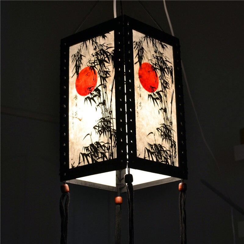 Asian Oriental Home/Bedroom/Living Room Zen Decor Desk / Table / Floor Lamps Suspension Luminaire Hanging Pendant Lights