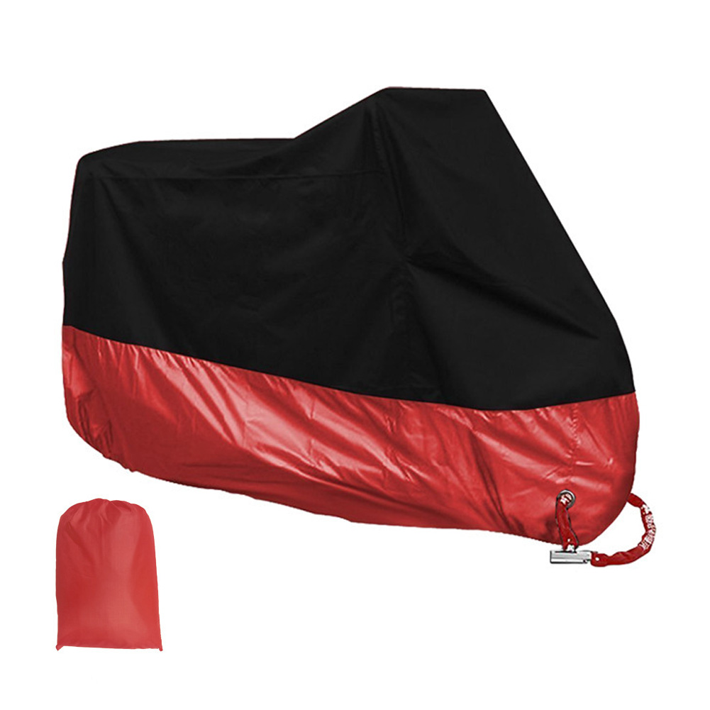 L/XL/2XL Universal Waterproof Outdoor UV Protector Bike Rain Dustproof Motorcycle Cover For Bike Scooter Covers