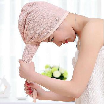 Pływanie szybkie suche włosy ręczniki kąpielowe magiczne miękkie czepki kąpielowe ręczniki kąpielowe z mikrofibry tanie i dobre opinie hirigin Gładkie barwione Quick-dry Poliester bawełna