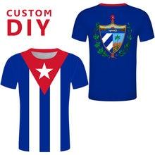 Camiseta independiente de Cuba para hombre y mujer, camiseta de talla grande, camisetas para Che Guevar, camiseta azul, Camiseta deportiva personalizada de México
