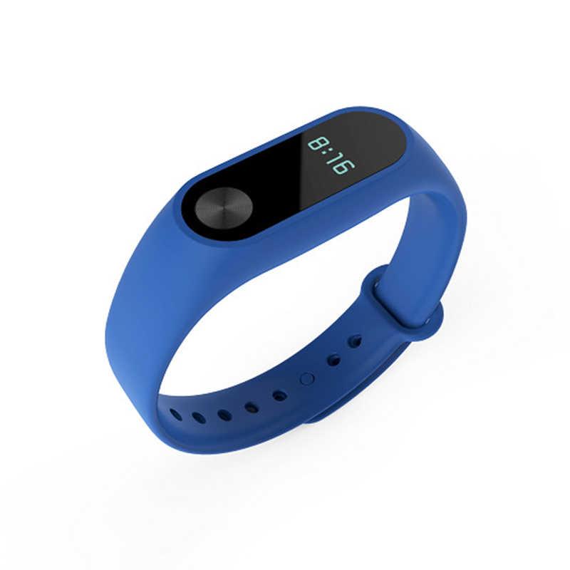 Pour Xiao mi mi bande 2 Sport Bracelet montre Silicone Bracelet pour Xiao mi mi bande 2 accessoires Bracelet mi Bracelet