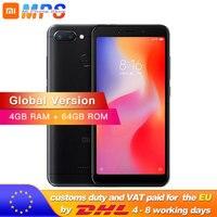 Global Version Redmi 6 4GB 64GB Mobile Phone Helio P22 Octa Core 5.45 18:9 Full Screen 12.0MP+5.0MP 3000mAh