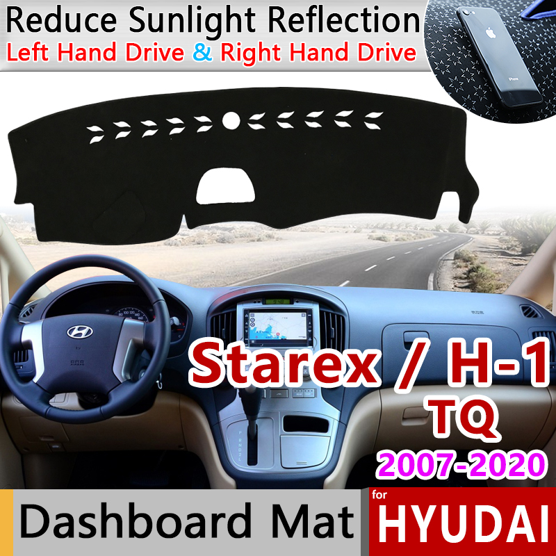 for Hyundai Grand Starex Royale i800 H-1 H300 2007 2019 Anti-Slip Mat Dashboard Cover Pad Sunshade Dashmat Car Accessories Cape