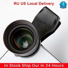 Sirui 60Mm Telelens Portret Mobiele Telefoon Lens Met Clip Hd 4K Lenzen Voor Iphone Max Xs X pixel 3 Samsung S8 S9