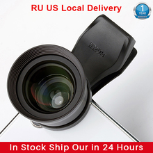 Sirui 60mm Teleobjektiv Porträt Handy Objektiv mit Clip HD 4K Linsen für iPhone Max Xs X pixel 3 Samsung S8 S9