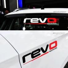Calcomanías adhesivas reflectantes para coche REVO Technik, 3 tamaños, modificado, para todo el cuerpo