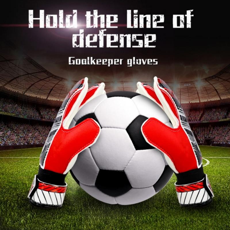 Kids Men's Soccer Goalkeeper  Professional Football Protection Keeper Gloves Adult Soccer Goalie Training Secure Gloves