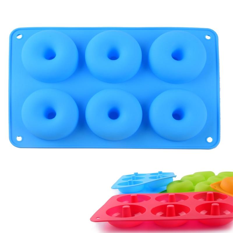Donut mold blue