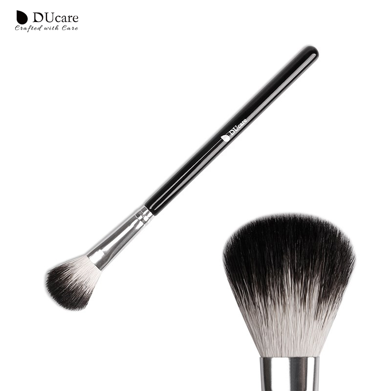 DUcare Makeup Brushes Multifunctional Goat Hair highlighter Brush  Blending makeup brushes  Eyebrow Eyeshadow Brush Makeup Tools