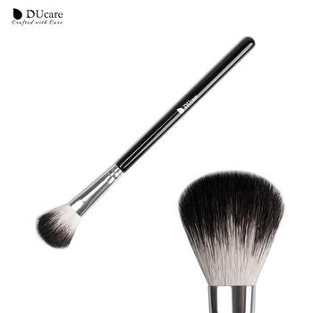 DUcare pędzle do makijażu wielofunkcyjne kozie włosy wyróżnienia pędzel mieszania pędzle do makijażu brwi pędzel do cieni do powiek narzędzia do makijażu tanie i dobre opinie Koza włosów NYLON 1PCS DF04 228*80*10MM Proszek Drewna Pędzel do makijażu 16 4 cm Makeup Brushes 16 8*1 8*1 8CM Highlighter Brush