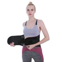 Lower Back Waist Support Brace Belt Double Adjustable Back Brace Lumbar Support Belt for Back Pain Relief Health Care Braces