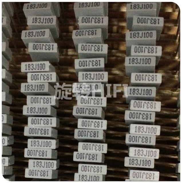 100 個アモイ Faratronic CL23B 18NF 100V 0.018UF 183 P5MM ファーラ CL23 グレーフィルムコンデンサ 183/100V 183J100 100VDC 183