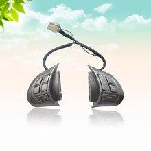 CAPQX samosterujące koło do samochodu Audio przycisk sterujący dla Subaru Forester 2008 2009 2010 2011 2012