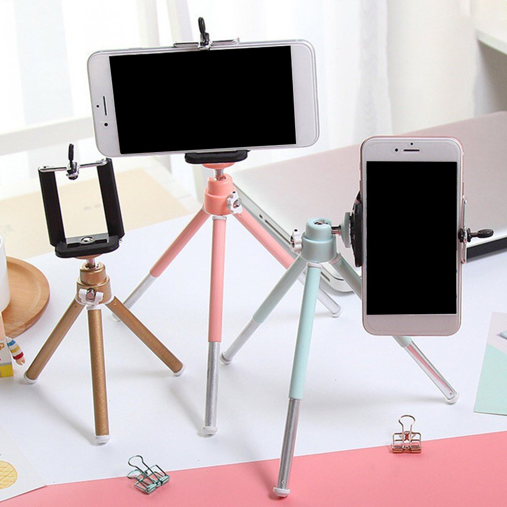 Tabletop Telescopic Tripod Phone Stand Two Section Camera Small Desktop Photography Tripod Digital Slr Camera Stand
