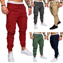 Plus Size men sports pants running fitness training pants ne