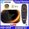 2020 VONTAR X3 4 Гб ОЗУ 128 Гб ПЗУ 8K Android Smart TV BOX Android 9,0 TV BOX Amlogic S905X3 2,4G 5G Wifi 4K ТВ-приставка 64 ГБ 32 ГБ