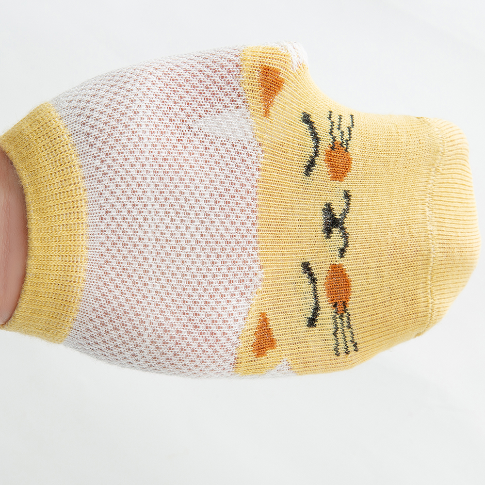 5Pairs/lot2-9Y Baby Socks Summer Cotton Animal Cartoon Kids Socks Girls Mesh Cute Newborn Boys Toddler Socks Baby 6