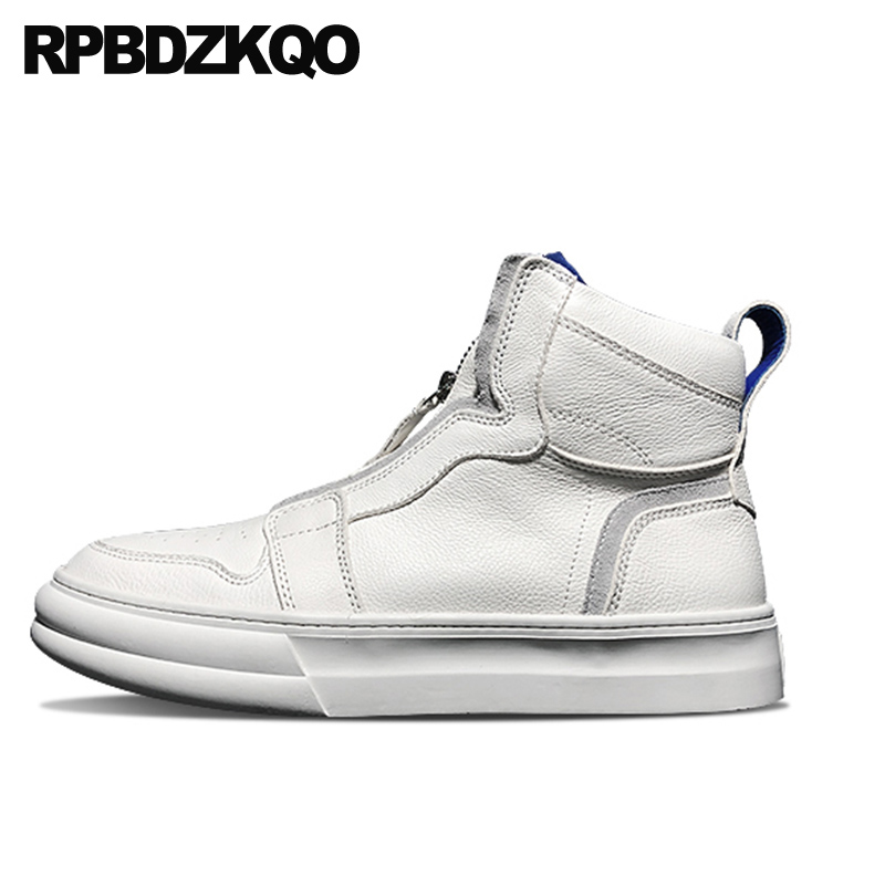 designer high top trainers