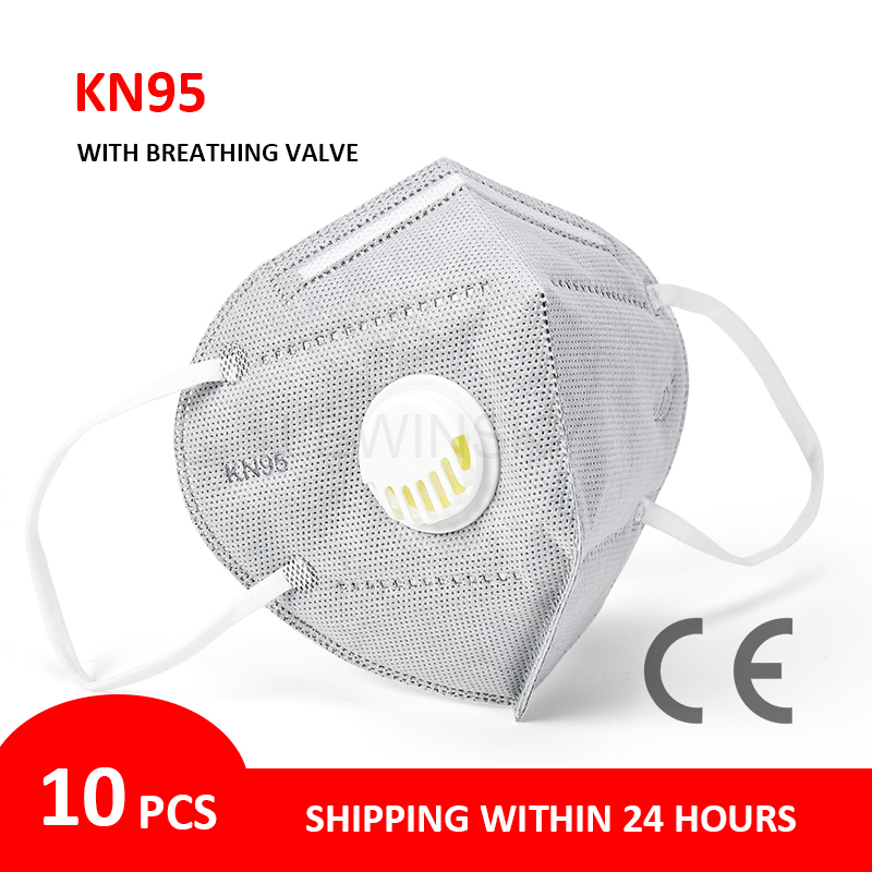 Dropshipping Reusable N95 FFP2 Anti Dust Mask Kn95 Facial Masks Respirator Masks KN95 Protective Face Mouth Masks Mascarillas