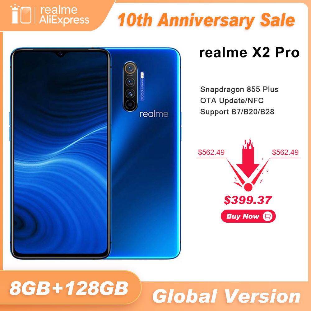 Realme 128GB WCDMA/LTE/GSM NFC Supervooc Gorilla Glass/bluetooth 5.0 Octa Core Fingerprint Recognition/face Recognition title=