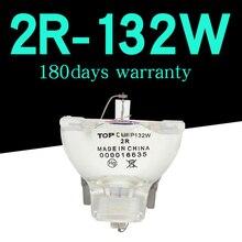 Gratis verzending Hoge kwaliteit 132W sharpy 2R sharpy lichtbundel moving head beam spotlight 2R MSD Platinum R2 Lamp