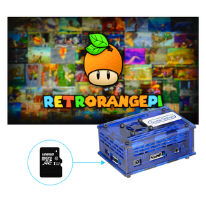 Image 5 - 128GB RETRORANGEPI 게임 스테이션 아케이드 코디 데스크탑 미니 PC HDMI w/ 17000 + 게임 레트로 파이 시스템 코디 아케이드 풀 키트