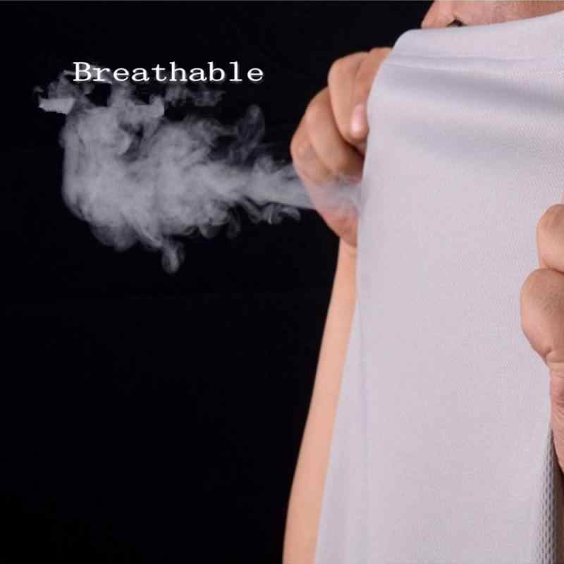 Anty-brudne wodoodporne męskie T Shirt hydrofobowe odporne na plamy oddychające przeciwporostowe szybkie suche góry z krótkim rękawem Outdoor Hiking shirt8