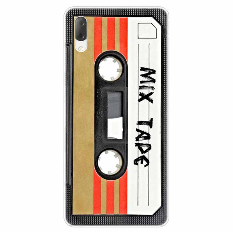 Hot Classical Old Cassette Hard Case For Sony Xperia L1 L2 L3 X XA XA1 XA2 Ultra E5 XZ XZ1 XZ2 Compact XZ3 M4 Aqua Z3 Z5 Premium