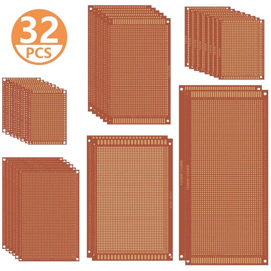 1pcs 8x12cm Single Side Prototype PCB Universal Printed Circuit Board Protobo/_JO