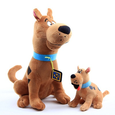 Large small Size 18/35cm Scooby Doo Dog Plush Toys Cartoon Soft Stuffed Animals Childeren Gift image