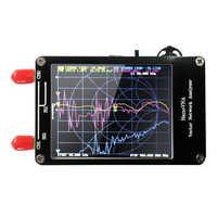 Analizador portátil de red de Vector, pantalla táctil Digital de onda corta MF, HF, VHF, UHF, Analizador de antena, 50KHz-900MHz