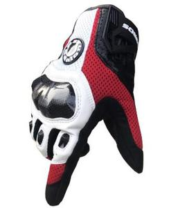 Image 4 - Free shipping UB 390 motorcycle gloves / racing gloves / carbon fiber gloves Genuine leather gloves 3color